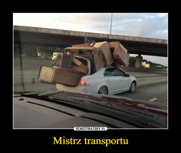 Mistrz transportu –
