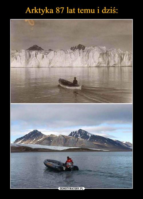 Arktyka 87 lat temu i dziś: