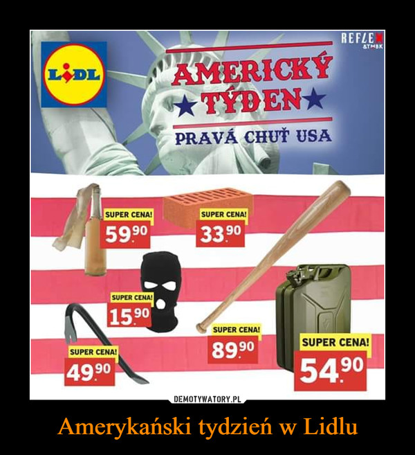 Amerykański tydzień w Lidlu –