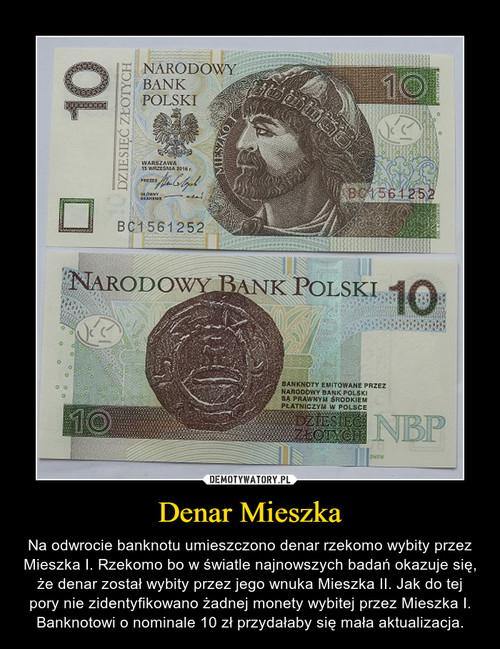 Denar Mieszka