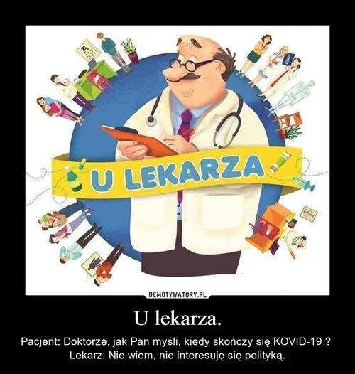 U lekarza.