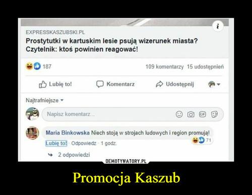 Promocja Kaszub
