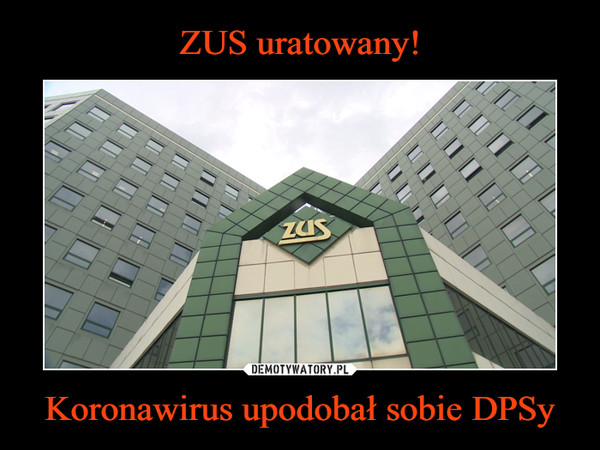 Koronawirus upodobał sobie DPSy –