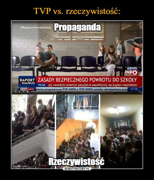 TVP vs. rzeczywistość: