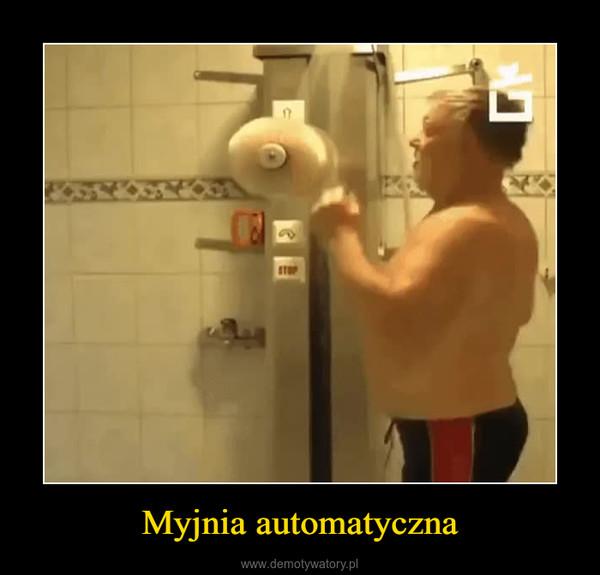 Myjnia automatyczna –