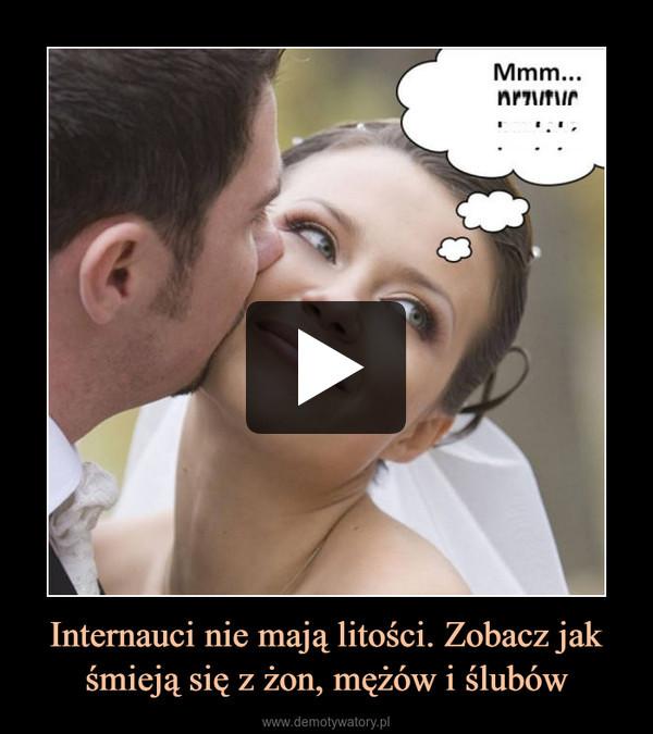 Internauci nie mają litości. Zobacz jak śmieją się z żon, mężów i ślubów –