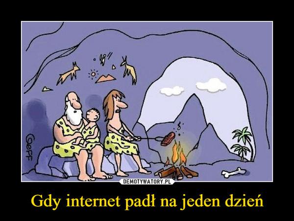 Gdy internet padł na jeden dzień –