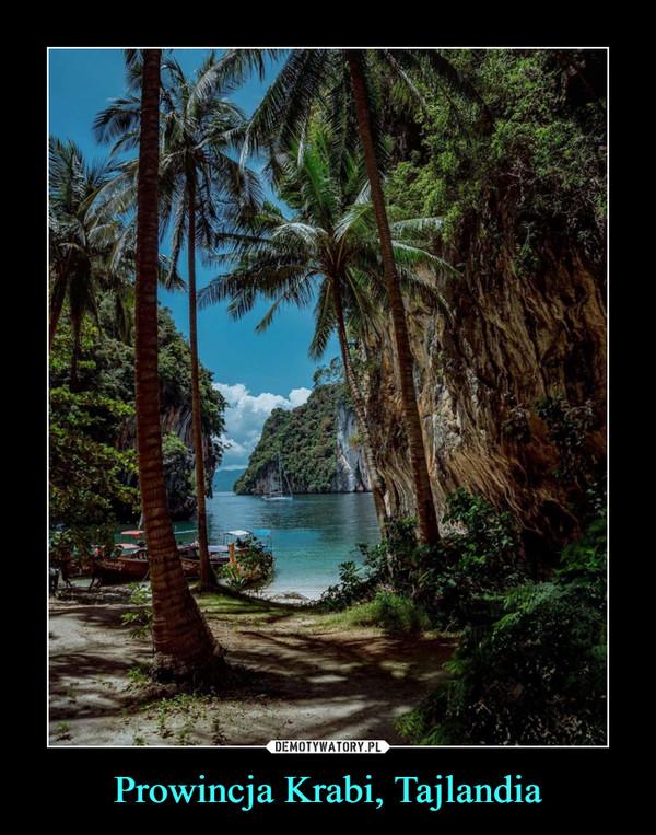 Prowincja Krabi, Tajlandia –