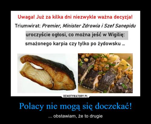Polacy nie mogą się doczekać!