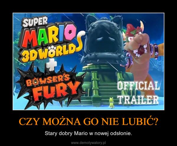 CZY MOŻNA GO NIE LUBIĆ? – Stary dobry Mario w nowej odsłonie.
