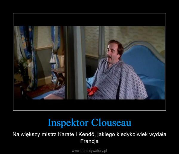 Inspektor Clouseau – Największy mistrz Karate i Kendō, jakiego kiedykolwiek wydała Francja