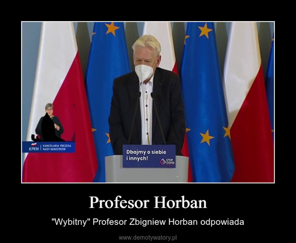 """Profesor Horban – """"Wybitny"""" Profesor Zbigniew Horban odpowiada"""