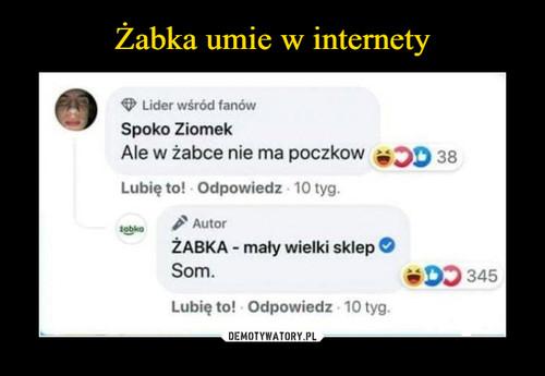 Żabka umie w internety