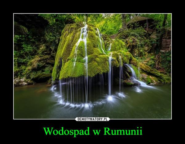Wodospad w Rumunii –
