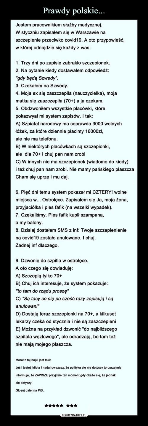 Prawdy polskie...