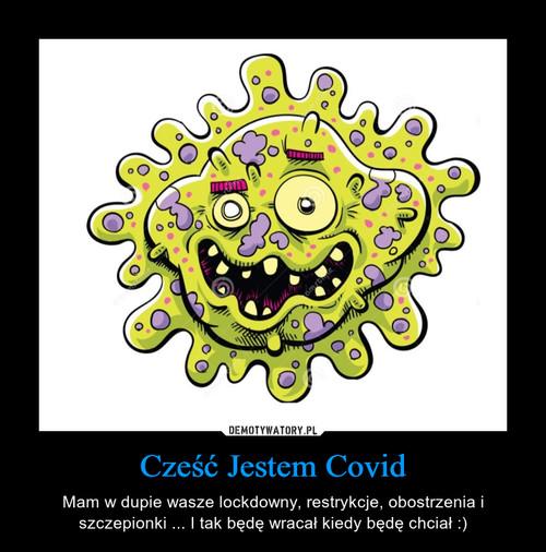 Cześć Jestem Covid
