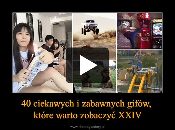 40 ciekawych i zabawnych gifów, które warto zobaczyć XXIV –