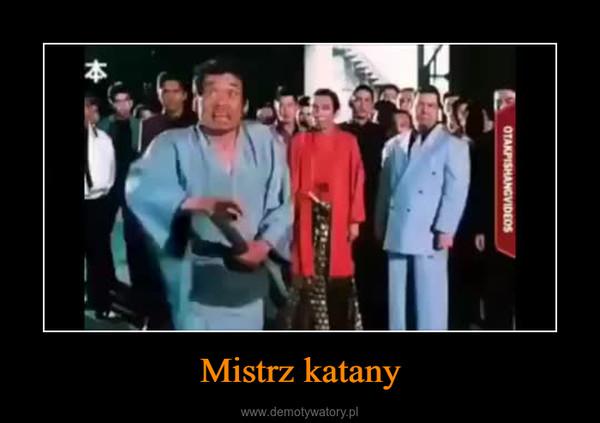 Mistrz katany –