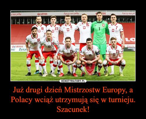Już drugi dzień Mistrzostw Europy, a Polacy wciąż utrzymują się w turnieju. Szacunek!