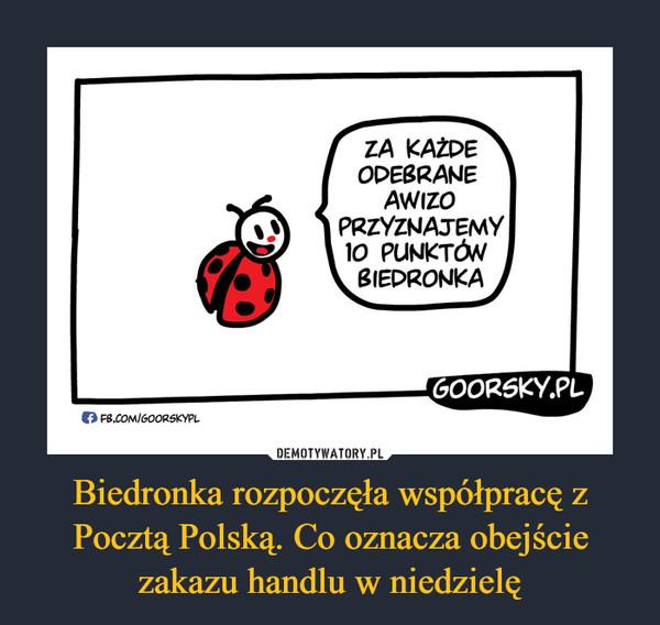 Biedronka rozpoczęła współpracę z Pocztą Polską. Co oznacza obejście zakazu handlu w niedzielę –