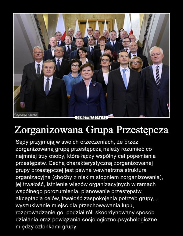 Zorganizowana Grupa Przestępcza