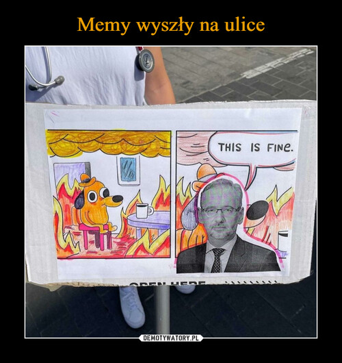 Memy wyszły na ulice