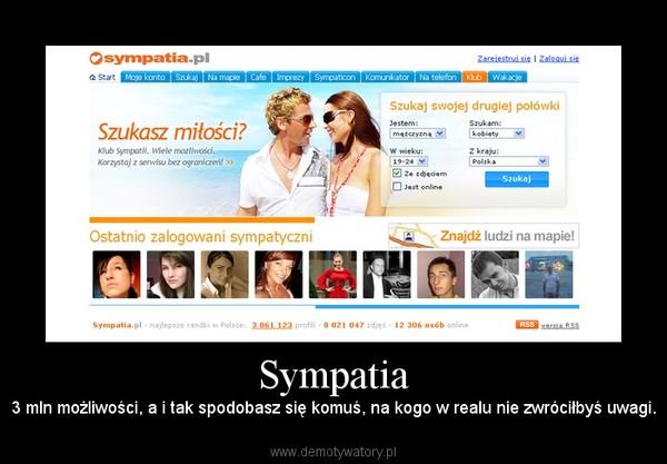 sympatia pl randki Gliwice