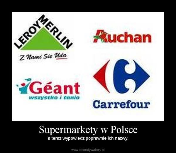 Supermarkety W Polsce