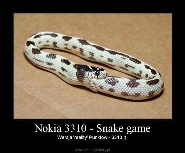 ... - Of The Nokia Snake Game Suitable For The Nokia Nokia 3210 3310