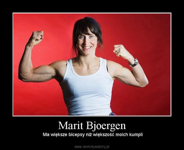 Marit Bjoergen Biceps Images & Pictures - Becuo