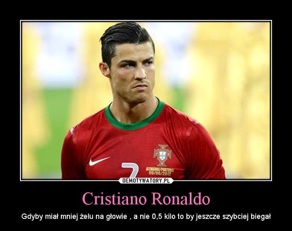 Cristiano Ronaldo Gdyby Mia Mniej Elu Na G Owie A Nie 0 5