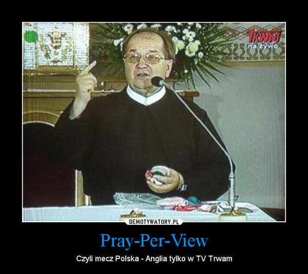 Pray-Per-View