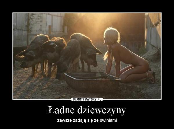 ебля девушек со свиньями