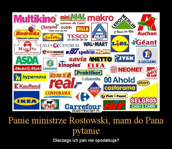 podatki płacą tylko Polacy