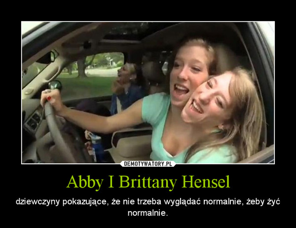 Abigail and brittany hensel sex